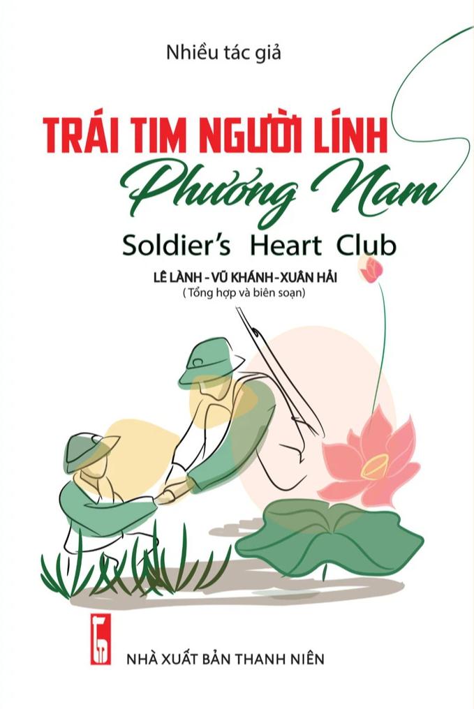 """Bìa cuốn sách """"Trái tim người lính phương Nam"""""""