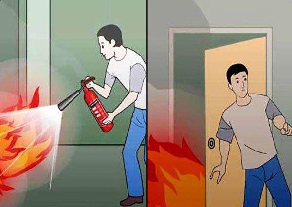 Làm gì khi gặp hỏa hoạn? Hướng dẫn kỹ năng thoát hiểm khi gặp hỏa hoạn - Ảnh 2.