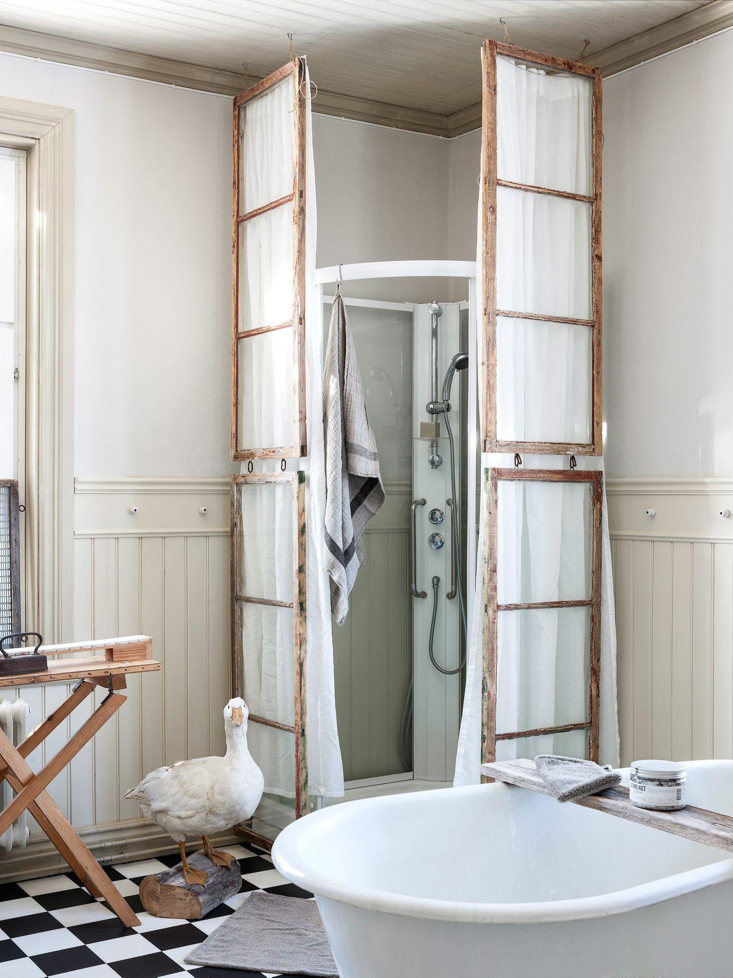 Mẹo tái sử dụng khung cửa sổ cũ trong trang trí và lưu trữ - Ảnh 8.