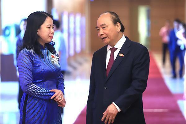 Bà Võ Thị Ánh Xuân được bầu làm Phó Chủ tịch nước - Ảnh 1.
