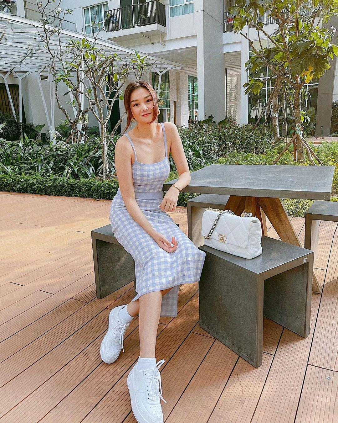 Thanh Hằng mới cập nhật một loạt outfit mùa Hè xinh ngây ngất, nàng 30  học theo thì đảm bảo trẻ trung mà vẫn thanh lịch - Ảnh 8.