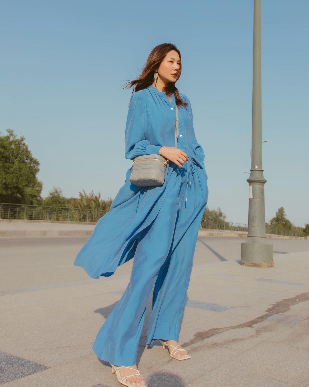 Thanh Hằng mới cập nhật một loạt outfit mùa Hè xinh ngây ngất, nàng 30  học theo thì đảm bảo trẻ trung mà vẫn thanh lịch - Ảnh 3.