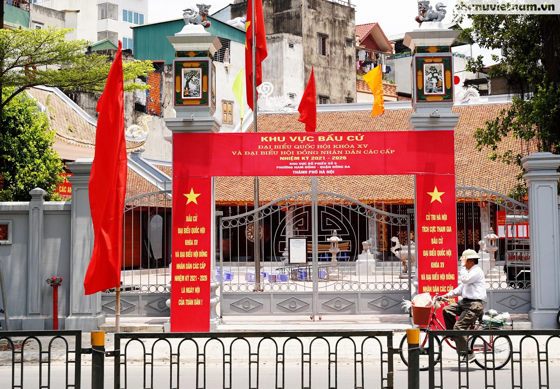"""Phố phường Hà Nội rừng rực khí thế chào mừng """"Ngày hội của toàn dân"""" - Ảnh 5."""