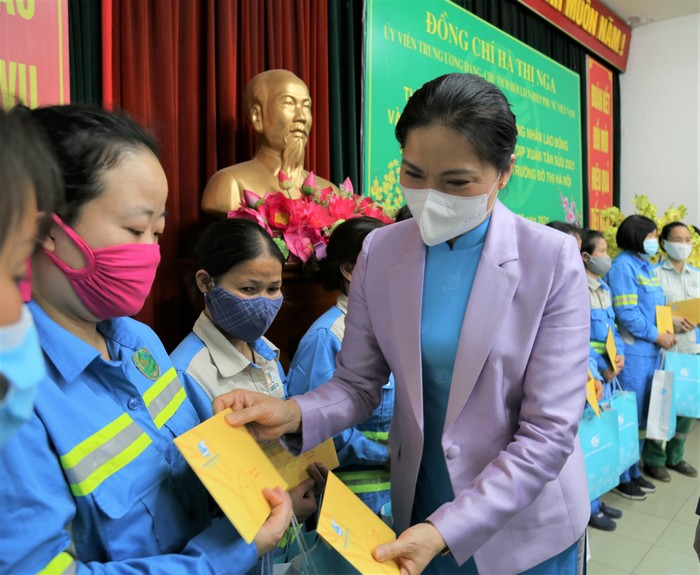 Chủ tịch Hội LHPN Việt Nam Hà Thị Nga ứng cử đại biểu Quốc hội tại đơn vị bầu cử số 1 của Tiền Giang - Ảnh 1.