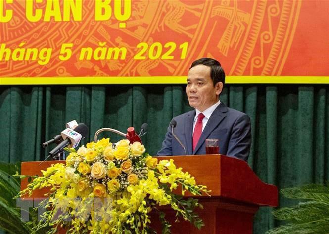 Ông Trần Lưu Quang làm Bí thư Thành ủy Hải Phòng nhiệm kỳ 2020-2025 - Ảnh 1.