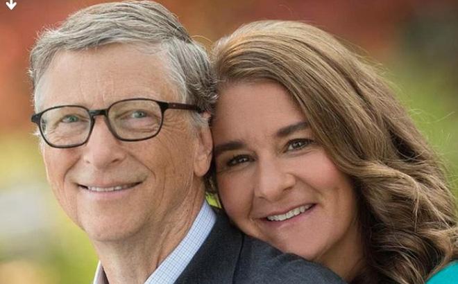 Vợ chồng Bill Gates thuở còn mặn nồng