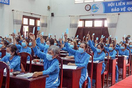 Châu Thành A (Hậu Giang): 32 ấp không còn hội viên phụ nữ nghèo - Ảnh 1.