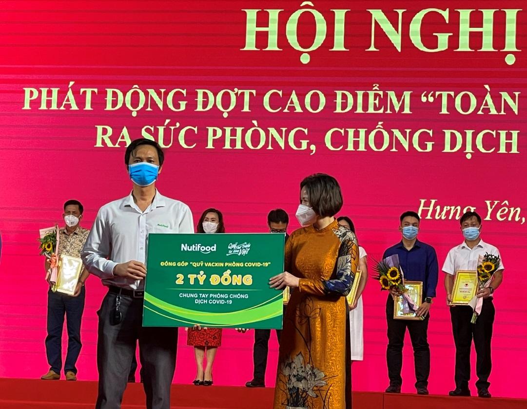 """Quỹ Phát triển Tài năng Việt """"Bắc tiến"""" chung tay phòng chống Covid-19 - Ảnh 1."""