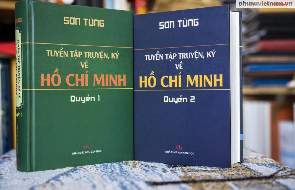 Chiêm ngưỡng kho tàng sáng tác đồ sộ của nhà văn Sơn Tùng về Bác Hồ, danh nhân cách mạng - Ảnh 24.