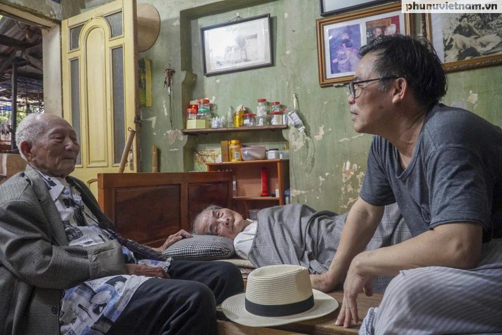 """Lần gặp mặt cuối cùng giữa """"Hùng xám đường số 4"""" 101 tuổi với nhà văn Sơn Tùng - Ảnh 8."""