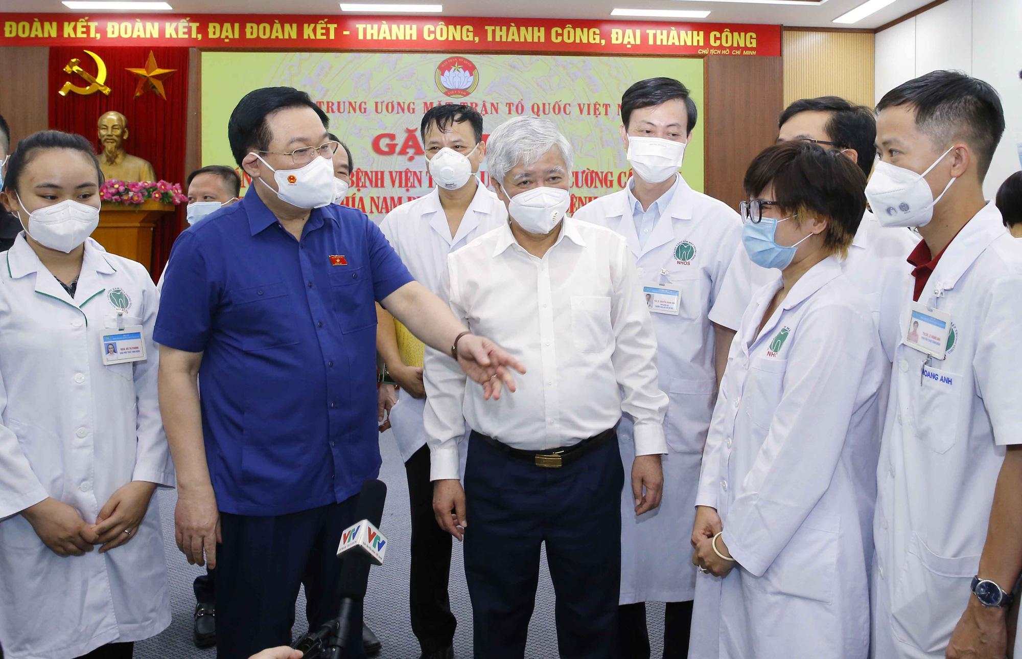Chủ tịch Quốc hội gặp mặt, động viên gần 3.000 y bác sĩ vào TPHCM chống dịch - Ảnh 3.