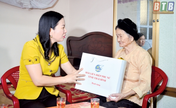 Phát huy truyền thống vẻ vang của phụ nữ Thái Bình - Ảnh 1.