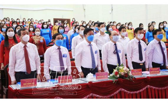 Đồng chí Nguyễn Thị Phượng tái đắc cử Chủ tịch Hội LHPN tỉnh Thái Bình nhiệm kỳ 2021 - 2026 - Ảnh 1.