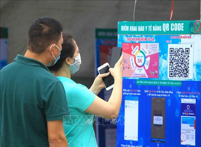 Hàng quán ở Hà Nội phải có mã quét QR thì mới được hoạt động - Ảnh 1.