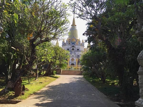 Chùa Bửu Long, niềm tự hào của kiến trúc Phật giáo Nam tông - Ảnh 1.