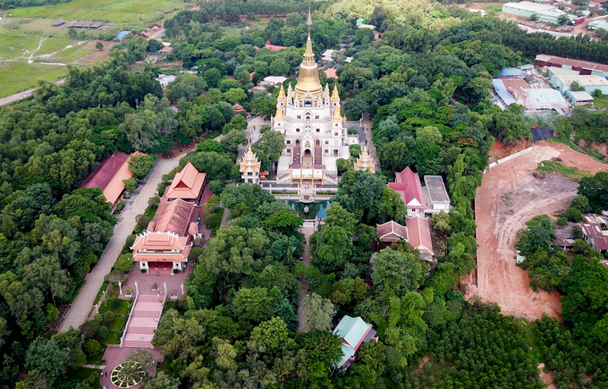 Chùa Bửu Long, niềm tự hào của kiến trúc Phật giáo Nam tông - Ảnh 4.