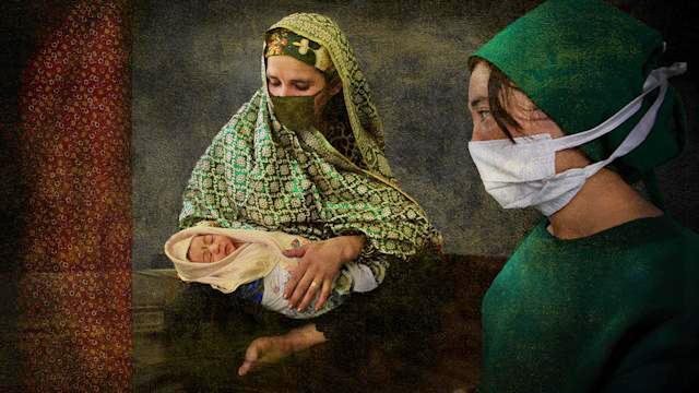 Cái khó của phụ nữ Afghanistan khi sinh con dưới thời Taliban - Ảnh 1.