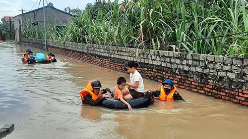 Cận cảnh vùng 'rốn ngập' ở Nghệ An - Ảnh 2.