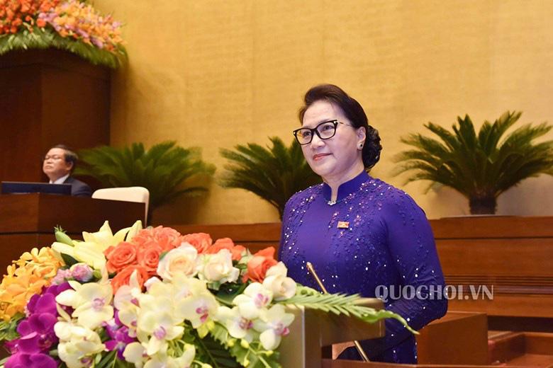 Chủ tịch Quốc hội Nguyễn Thị Kim Ngân: Khẩn trương thực hiện các luật, nghị quyết đã thông qua - Ảnh 1.