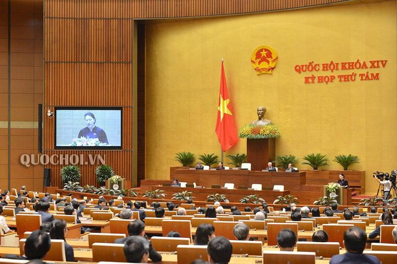 Chủ tịch Quốc hội Nguyễn Thị Kim Ngân: Khẩn trương thực hiện các luật, nghị quyết đã thông qua - Ảnh 2.