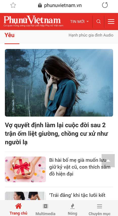 Đón xem giao diện mới của Báo Phụ nữ Việt Nam điện tử  - Ảnh 2.
