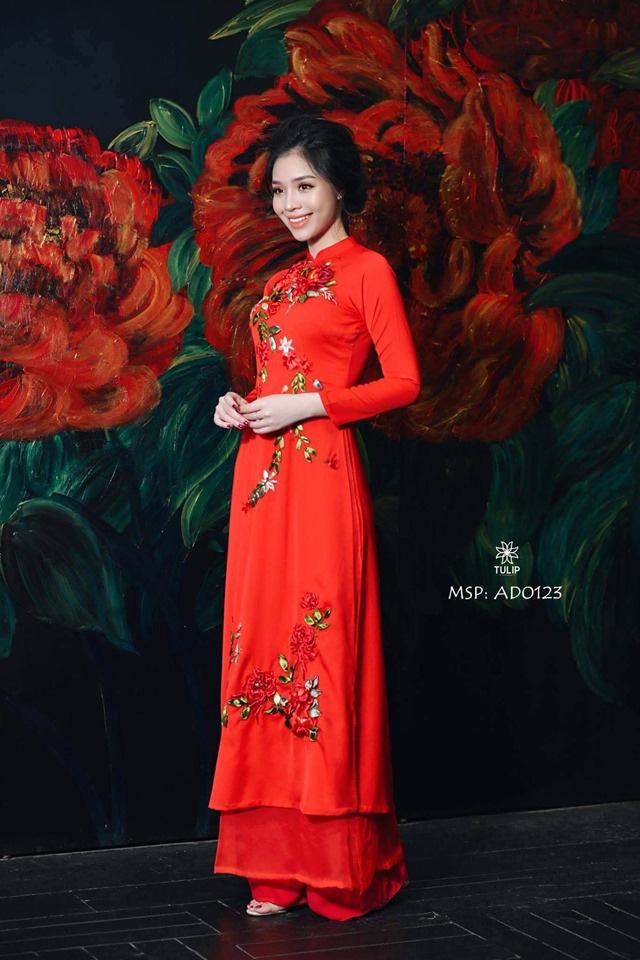"""""""Phù thủy make-up"""" Dũng Nguyễn tặng áo dài thêu tay cho Mottainai 2019 - Ảnh 3."""