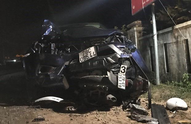 Nguyên nhân ban đầu vụ tai nạn giao thông 4 người chết ở Phú Yên - Ảnh 1.
