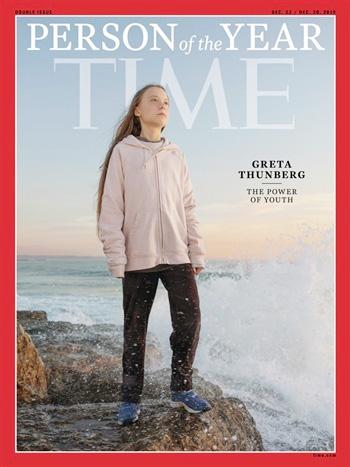Greta Thunberg trên trang bìa tạp chí TIME