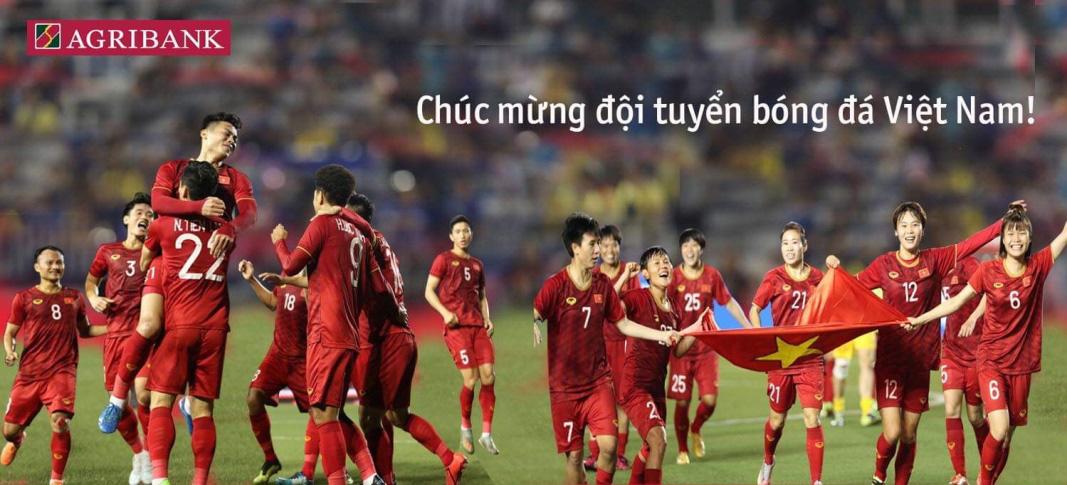 Agribank tặng 02 tỷ đồng cho 2 đội tuyển bóng đá nam và nữ Việt Nam - Ảnh 1.