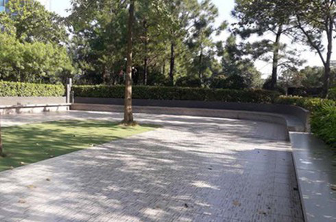 Góc sân chơi ở Ciputra, nơi xảy ra sự việc.