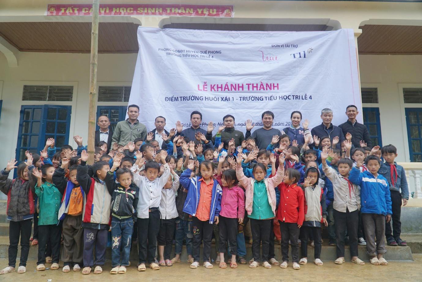 Thêm một điểm trường vùng biên giới Nghệ An được khánh thành - Ảnh 2.