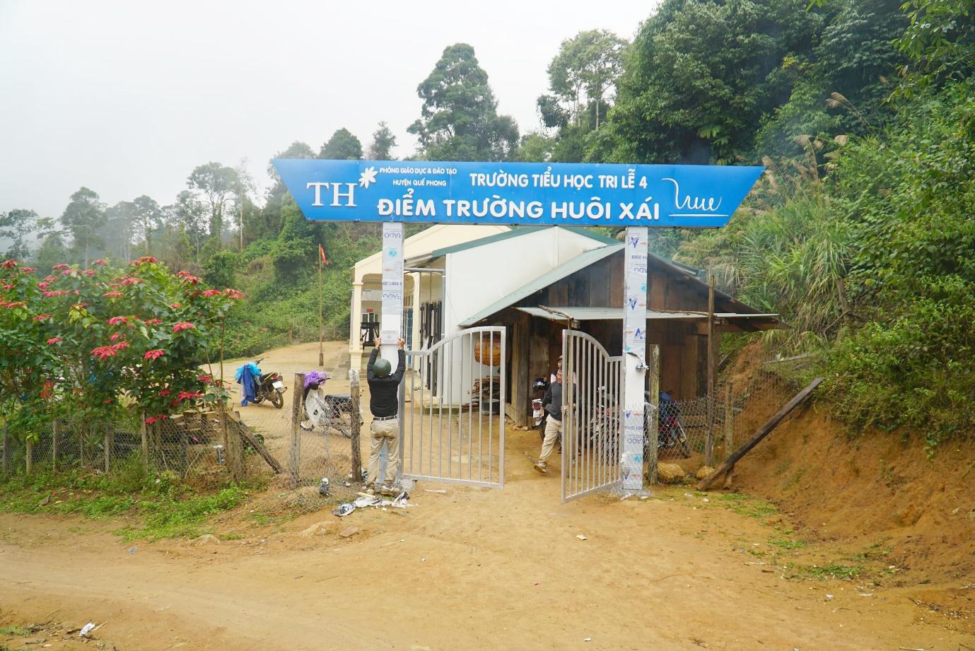 Thêm một điểm trường vùng biên giới Nghệ An được khánh thành - Ảnh 3.