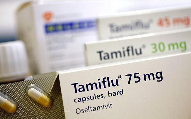 Bộ Y tế: Chỉ còn 1.720 viên thuốc Tamiflu điều trị cúm - Ảnh 1.