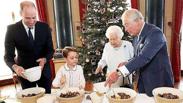 4 thế hệ hoàng gia Anh cùng làm bánh