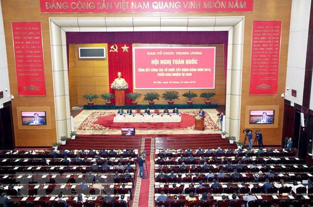 Hội nghị tổng kết công tác tổ chức xây dựng Đảng năm 2019 - Ảnh 3.