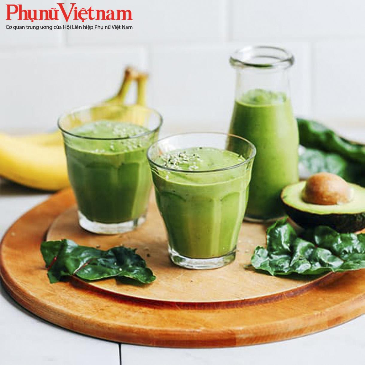 Món sinh tố tăng cường vitamin E