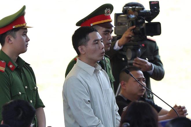 Bị cáo Lường Văn Lả tại phiên tòa sơ thẩm.