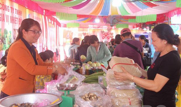 Sản phẩm khởi nghiệp của phụ nữ Bình Định