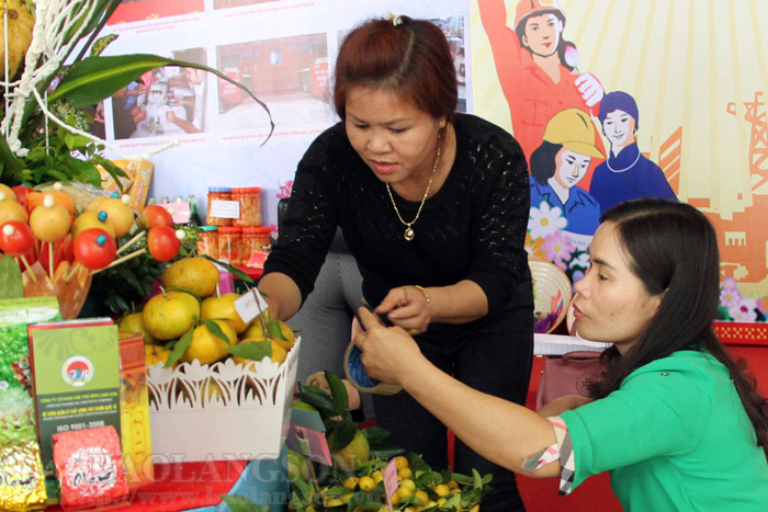 Nhiều phụ nữ Lạng Sơn được tiếp sức khởi nghiệp