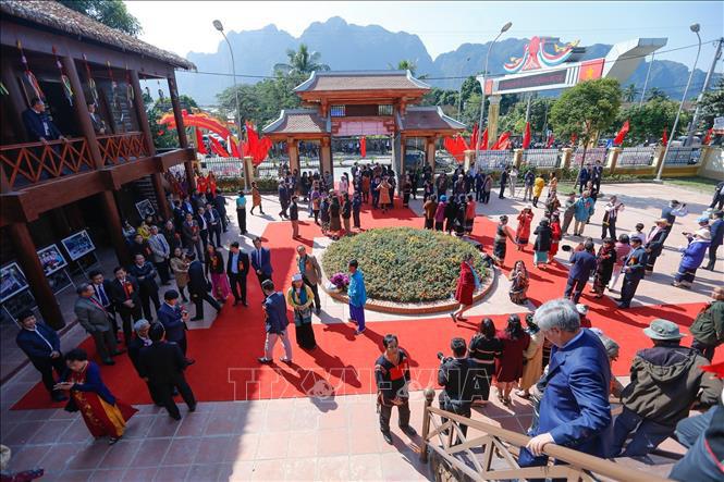 Khánh thành Khu di tích lịch sử Trường Cán bộ dân tộc miền Nam - Ảnh 2.