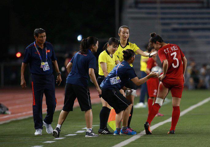 Một chiến thắng đầy quả cảm, bản lĩnh của các cô gái vàng của bóng đá Việt Nam.