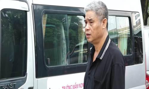 Bị cáo Doãn Quý Phiến, tài xế lái xe đưa đón học sinh của trường Gateway