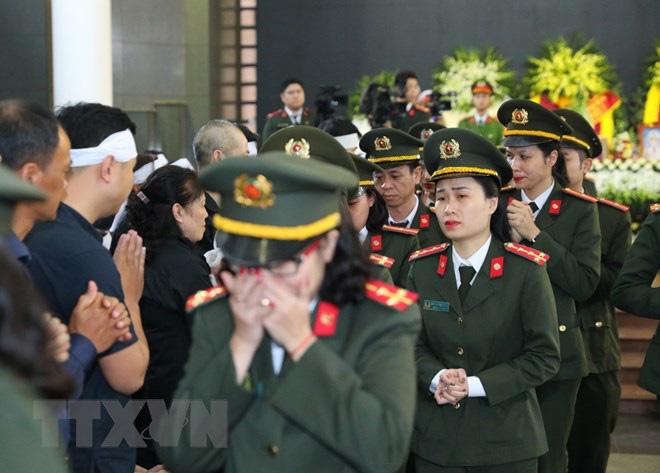 Tổ chức trọng thể Lễ tang 3 liệt sỹ hy sinh tại Đồng Tâm - Ảnh 5.