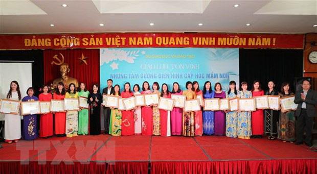 Bộ Giáo dục và Đào tạo tôn vinh 127 cô giáo mầm non tiêu biểu - Ảnh 2.