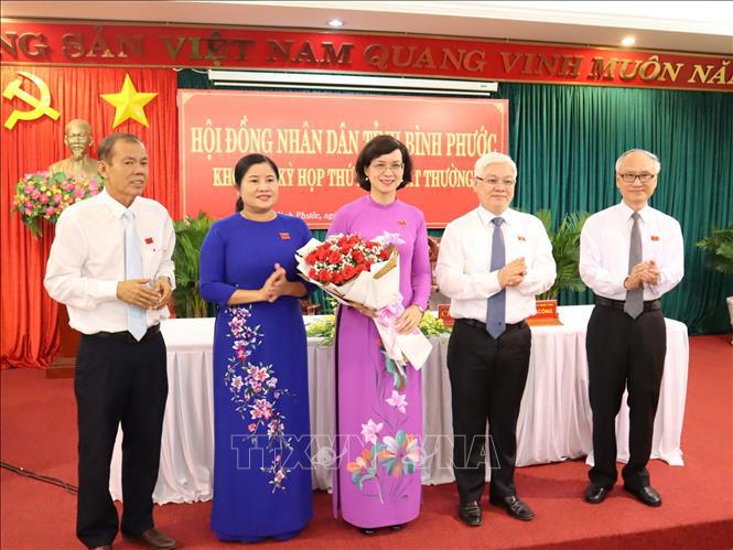 Bình Phước: Bà Trần Tuyết Minh được bầu làm Phó Chủ tịch UBND tỉnh - Ảnh 1.