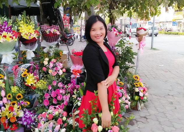 Chị Mai Lan đã có 12 năm kinh nghiệm kinh doanh bưởi Diễn