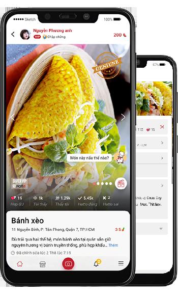 Xuất hiện mạng xã hội ẩm thực ứng dụng công nghệ trí tuệ nhân tạo - Ảnh 2.