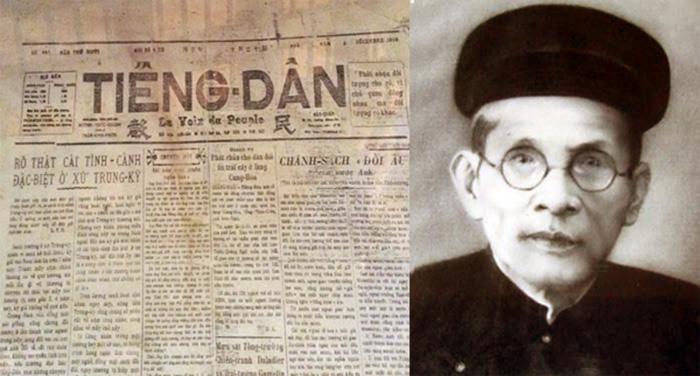 Cụ Huỳnh Thúc Kháng và tờ báo Tiếng Dân