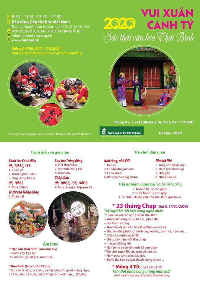 Rộn ràng sắc thái văn hóa Thái Bình ở Bảo tàng Dân tộc học Việt Nam - Ảnh 9.