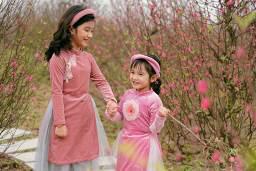 Ngắm những bộ ảnh áo dài đẹp lung linh trong 3 lễ hội hoa lớn nhất Tết Canh Tý - Ảnh 6.
